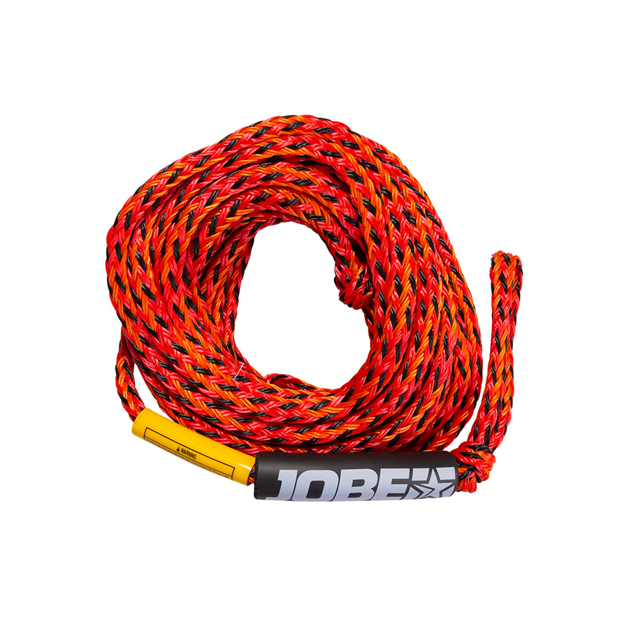 jobe 4 person towable rope red 211920008