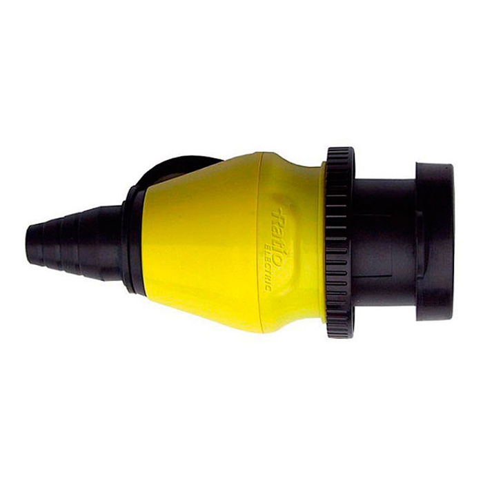 mp32 110 rewireable connector 32a250v ip56 poliamid
